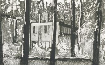Peter Doig-Border House-1996