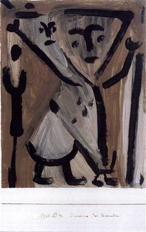 Paul Klee-Duettino des Passanten-1938