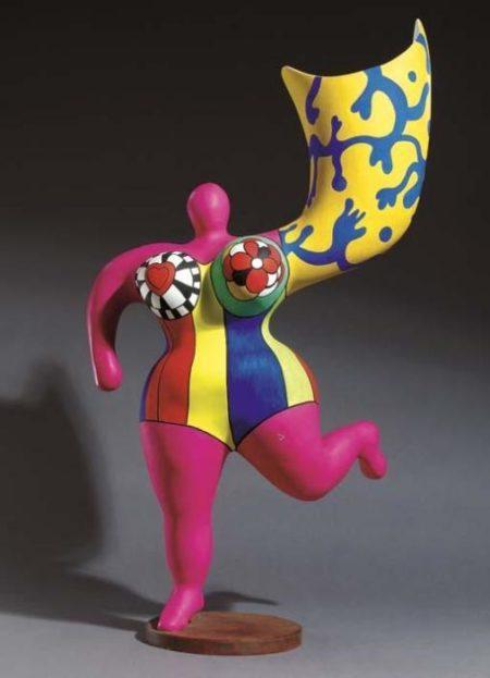 Niki de Saint Phalle-Ange luminaire-1995