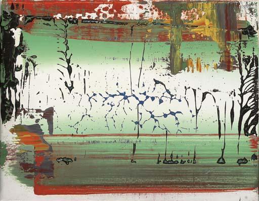 Gerhard Richter-Abstraktes Bild 716-10 (Abstract Painting 716-10)-1990