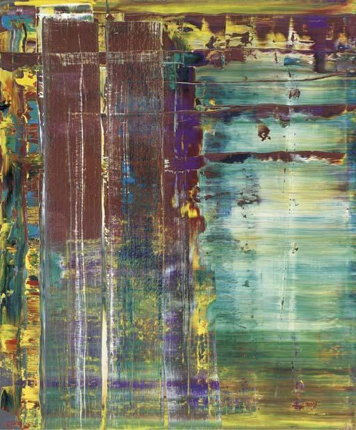 Gerhard Richter-Abstraktes Bild 721-5 (Abstract Painting 721-5)-1990