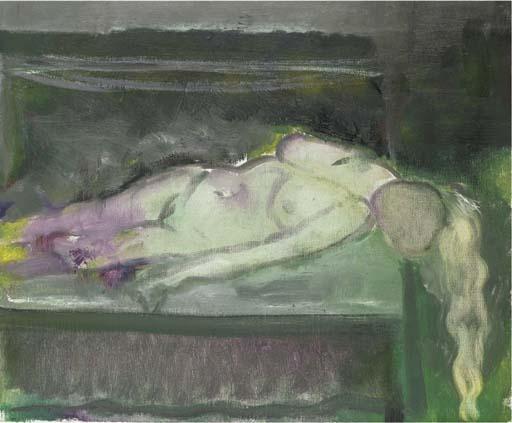 Marlene Dumas-Lying-1987