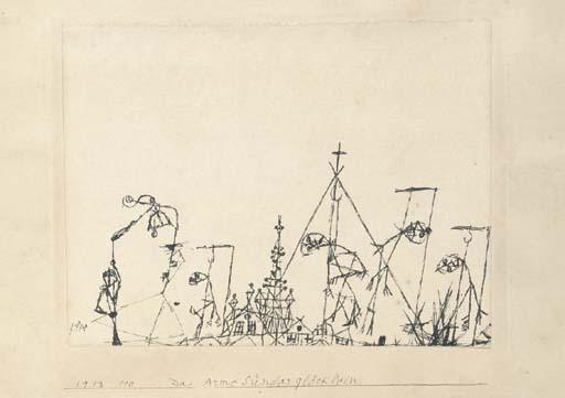Paul Klee-Dar Arme Sunderglocklein-1913