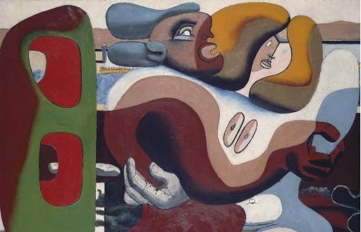 Le Corbusier-Deux femmes au bord de la mer-1935