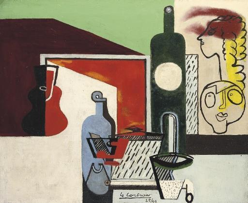 Le Corbusier-Nature morte au portrait de famille-1940