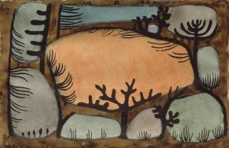 Paul Klee-Der Tag im Wald-1935