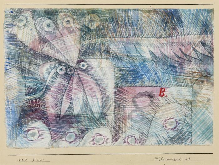Paul Klee-Pflanzen Bild 8.B-1925