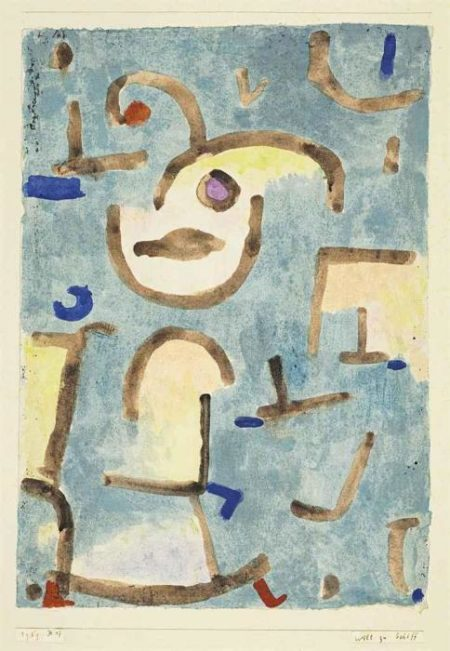 Paul Klee-Will Zu Schiff-1939
