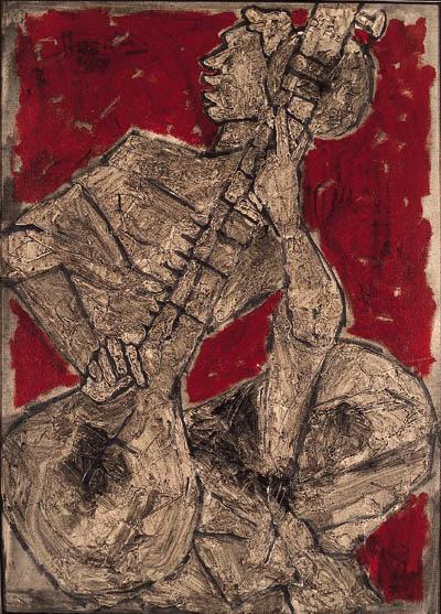 Maqbool Fida Husain-Musician-1967