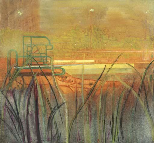 Peter Doig-Thirteen (Poll Painting)-1999