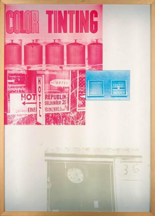 Robert Rauschenberg-Robert Rauschenberg - Sling Shot Lit # 6-1985