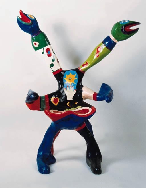 Niki de Saint Phalle-Snake Chair-1980