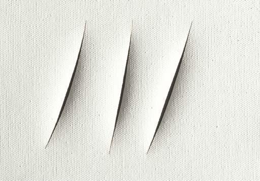 Lucio Fontana-Concetto spaziale, Attese 1+1-3740-1961