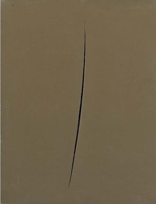 Lucio Fontana-Concetto spaziale, Attesa-1959
