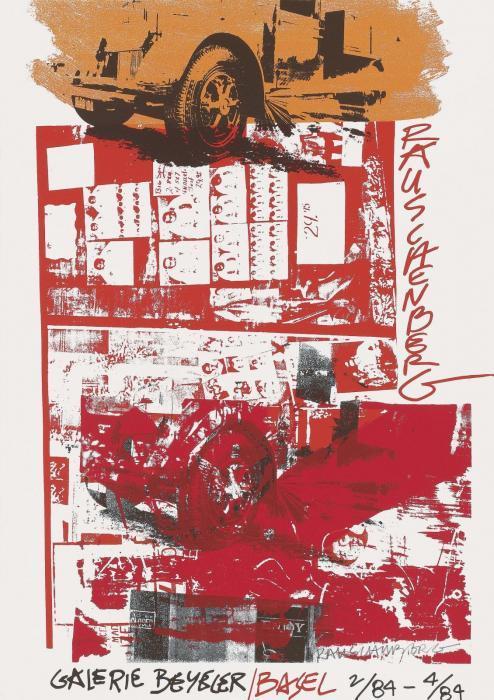 Robert Rauschenberg-Robert Rauschenberg - Poster Galerie Beyeler-1984
