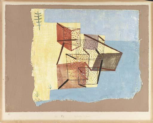 Paul Klee-Bebautes Ufer (Cultivated Shore)-1930