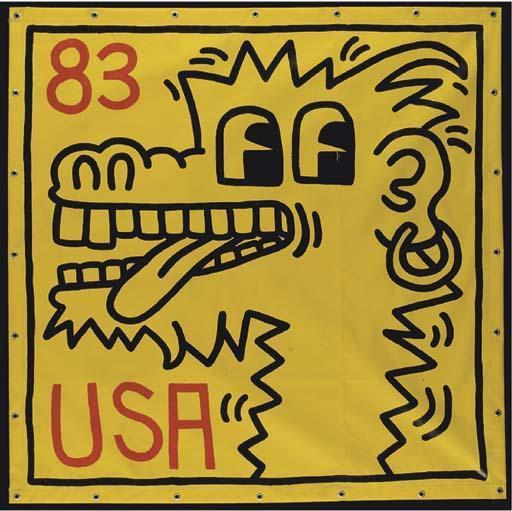 Keith Haring-Keith Haring - USA 1983-1983