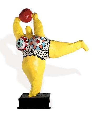 Niki de Saint Phalle-Peril jaune-1968