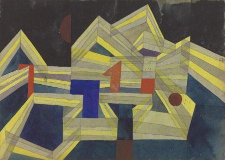 Paul Klee-Architectur, Transparent-Structural-1921