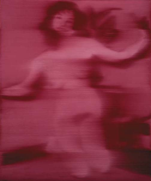 Gerhard Richter-Roter Akt (Red Nude)-1965