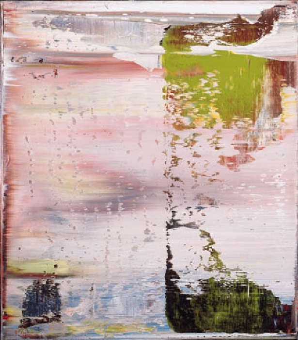 Gerhard Richter-Abstraktes Bild, Skizze (Abstract Painting, Sketch)-1995