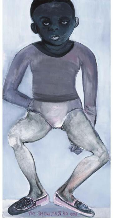 Marlene Dumas-The Show Must Go On-1991