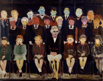 Marlene Dumas-The Teacher (sub a)-1987