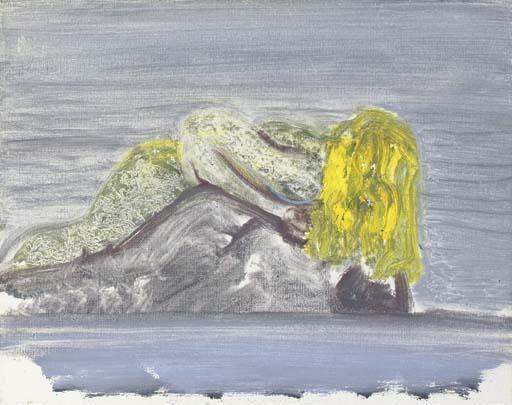 Marlene Dumas-Drunken Mermaid-1992