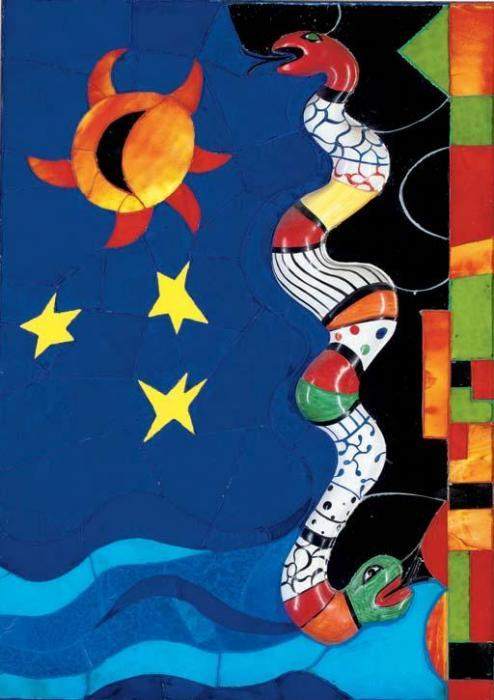 Niki de Saint Phalle-Le serpent-1987