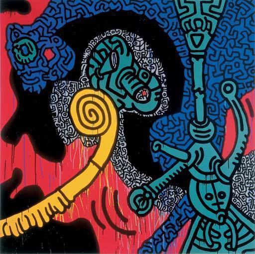 Keith Haring-Keith Haring - Barcelona-1989