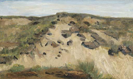 Vincent van Gogh-Het Duin (the dune)-1882