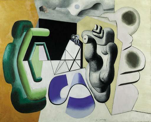 Le Corbusier-Harmonique perilleuse No.2-1931