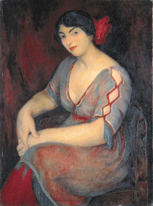 Diego Rivera-Portrait of a Woman-1912