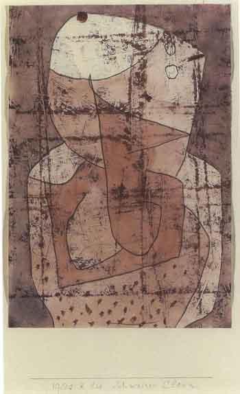 Paul Klee-Schweizer Clown-1940