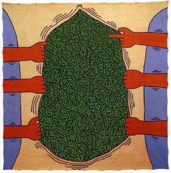Keith Haring-Keith Haring - Dollars-1985