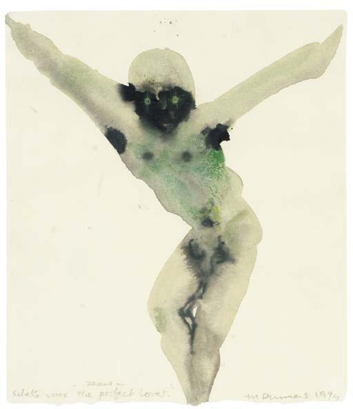 Marlene Dumas-Jesus - Sketch For The Perfect Lover-1994