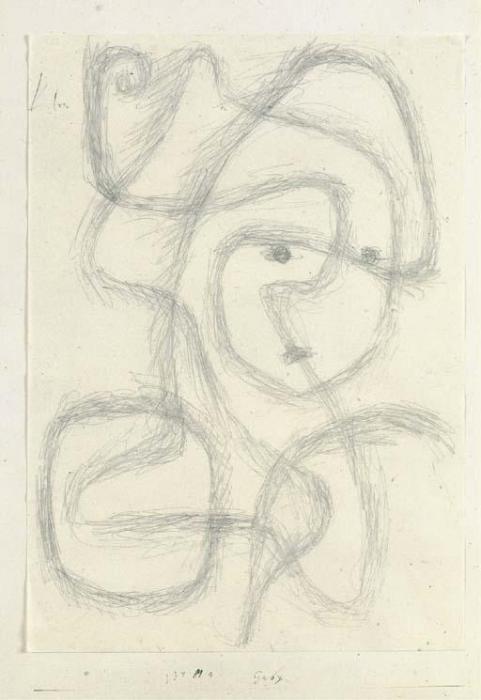 Paul Klee-Gaby-1934
