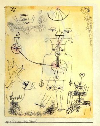 Paul Klee-Der Stolze P'rrrsch-1920