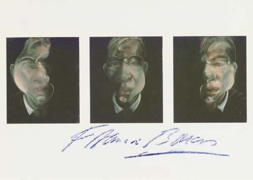 Francis Bacon-Studies for a Self Portrait-1990