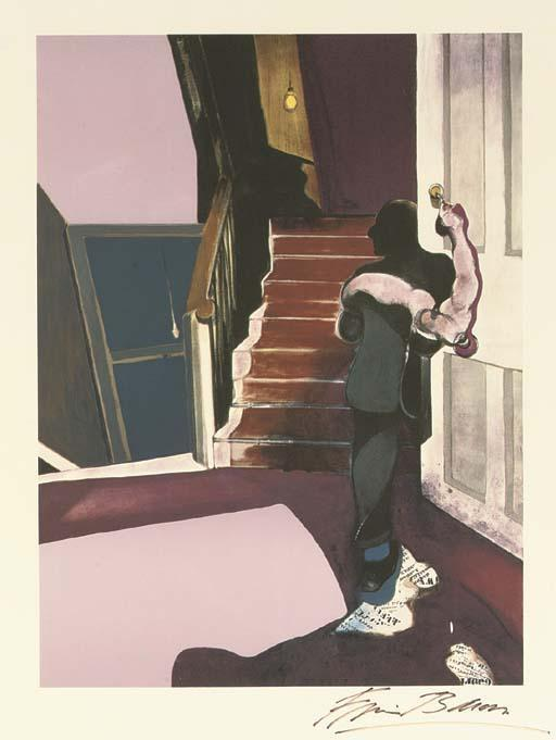 Francis Bacon-In Memory of George Dyer-1976
