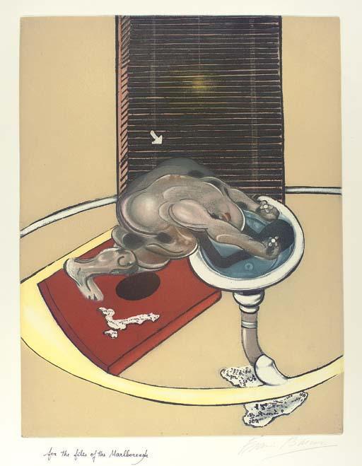 Francis Bacon-Figure at a Washbasin-1976