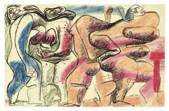 Le Corbusier-Composition avec figures-