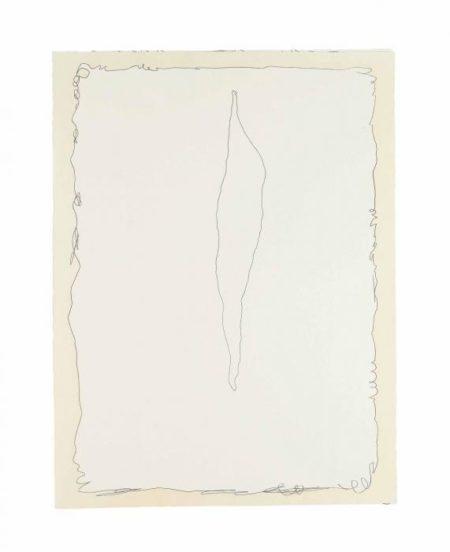 Lucio Fontana-Serie Rosa, Estampas de la Cometa-1966