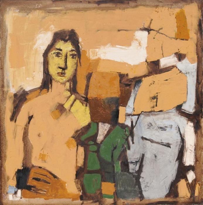 Maqbool Fida Husain-Untitled-1960