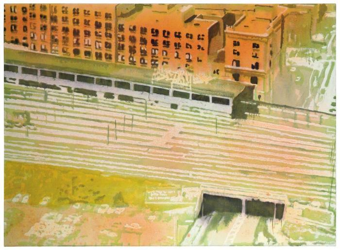 Peter Doig-Entering a City-1999