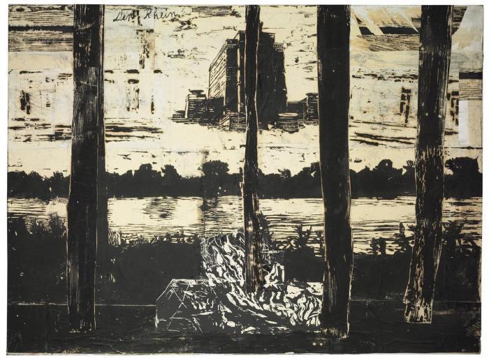 Anselm Kiefer-Der Rhein-1983