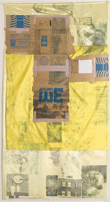Robert Rauschenberg-Robert Rauschenberg - Untitled (From The Hoarfrost Series)-1975