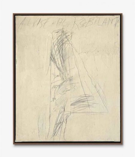 Cy Twombly-Portrait of Alvise Di Robilant-1967