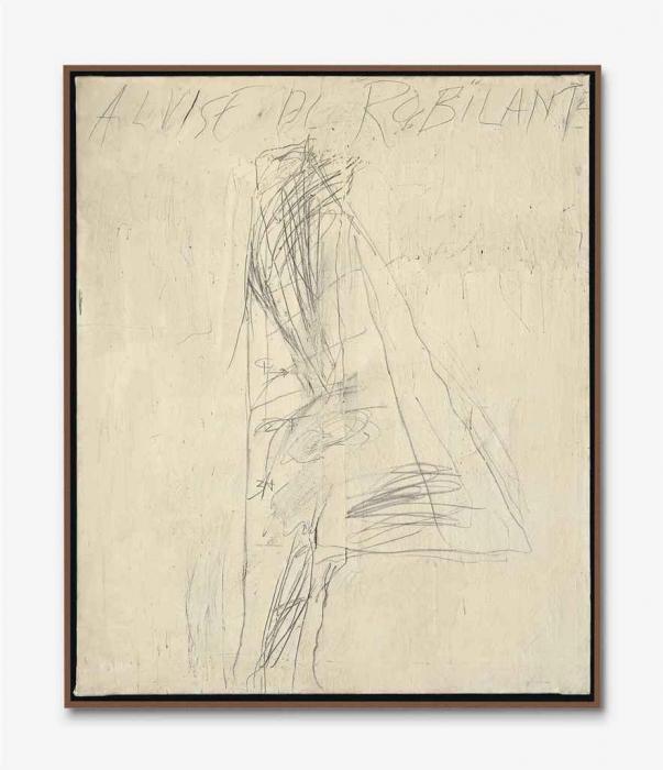 Cy Twombly-Portrait of Alvise Di Robilant-1967