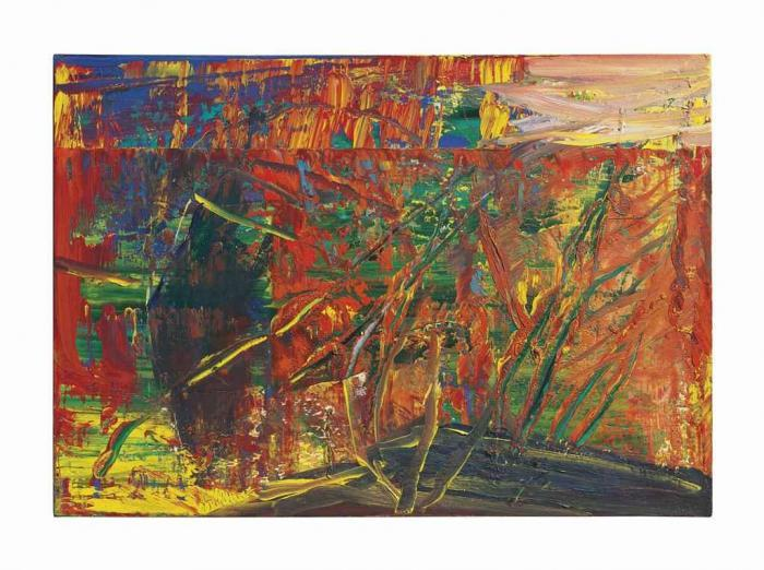 Gerhard Richter-Abstraktes Bild 607-2 (Abstract Painting 607-2)-1986